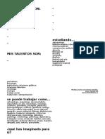 Folio Estudiantes Charla Humanidades