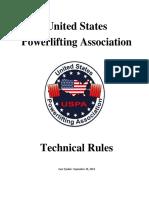 USPA Rulebook v092614