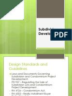GIM 177 - Subdivision Development