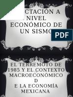 Afectación a Nivel Económico de Un Sismo THANIA