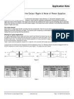 Reduction of Output Ripple & Noise