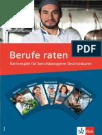 DaF PersD Kartenspiel BerufeRaten EB