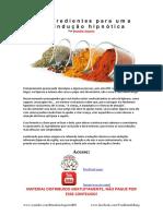 11 Ingredientes para uma boa indução hipnótica.pdf