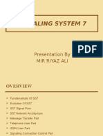 SS7 Signaling System