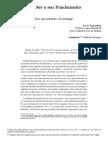 TUGENDHAT, Ernst. A questão do ser.pdf