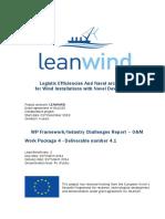 LEANWIND D4.1 WP-Framework Industry-Challenges-Report OM