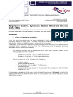 Hyaline Membrane Disease 3