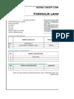 ACC-Formulir Lamaran Kerja