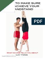 e Book Handstand