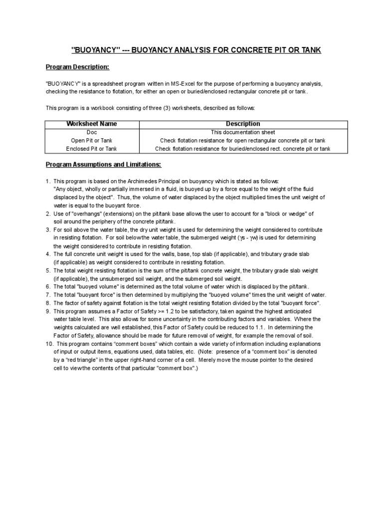Uncategorized Buoyancy Worksheet klimttreeoflife Resume Site