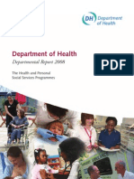 Department of Health Departmental Report 2008