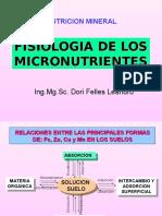 FISIOLOGIA MICRONUT