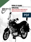 Manual de Usuario Sumo QM250 / QINGQI QM125L-4B