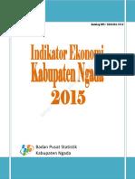 Indikator Ekonomi Kabupaten Ngada 2015