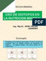 USO DE ISOTOPOS.ppt