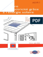 Produire Electricite Energie Solaire
