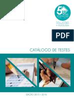 Catalogo de Testes
