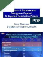 Depresi & Anxietas in Primary Care, CCPG-2014