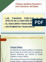 Unidad II_Las Finanzas Públicas Equilibrio Financiero e Instrumentos Financieros 2015.pdf