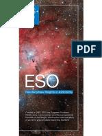 ESO General Flyer English
