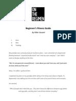 OTR Beginnssser s Fitness Guide 01