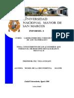 Informe 2 Nickel Materiales 1