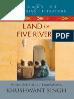 Land of Five Rivers - Khushwant Singh