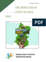 Statistik Pertanian Kabupaten Ngada 2015