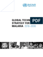 GLOBAL TECHNICAL STRATEGY FOR MALARIA 2016–2030