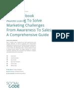 SocialCode Intelligence Brief Solving Marketing Challenges Through Facebook Ads