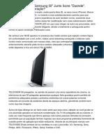 """TELEVISÃO LCD Samsung 32"""" Junto Ícone """"Duende"""". Compensa Recuperação?"""