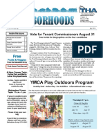 July 2016 THA Neighborhoods Newsletter