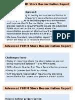 Advanced MM FI Reconciliation Report