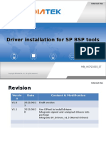 Driver installation for SP BSP tools.ppt