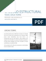 CALCULO ESTRUCTURAL GRUA