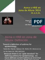 Asma en Zona de Altura 2016