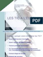Presentacio TIC Al Claustre