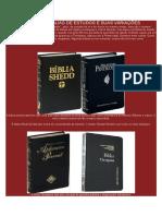 As Varias Biblias de Estudos e Suas Variações