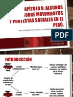 Algunos Apunte Sobre Los Movimientos y Protestas Sociales Enel Perú