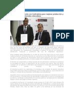 MINEDU - Firman Acuerdo Con CGR Para Mejorar Producción