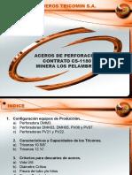 Aceros de Perforación CS-1180