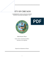 Chicago's Comprehensive Annual Financial Report for Year Ended Dec. 31, 2015