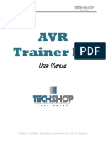 AVR Trainer Kit Manual