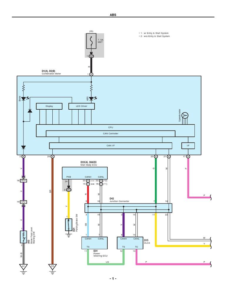Totota Yaris Electrical Wiring Diagrams | Transportation Engineering |  Internal Combustion Engine | 2007 Yaris Wiring Diagram |  | Scribd