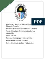 GLOBALIZACIÓN Y CONOCIMIENTO.doc