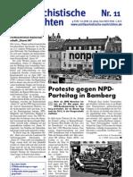 antifaschistische nachrichten 2008 #11