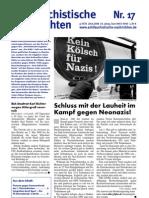 antifaschistische nachrichten 2008 #17
