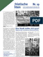 antifaschistische nachrichten 2008 #19