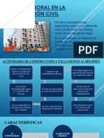 Régimen laboral en La Construcción Civil