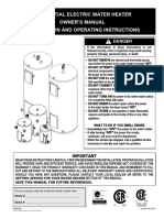 GI-IM017En - Water Heater Manual